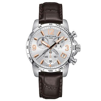 Certina Ds Podium Men's Stainless Steel Strap Watch - Product number 6426514