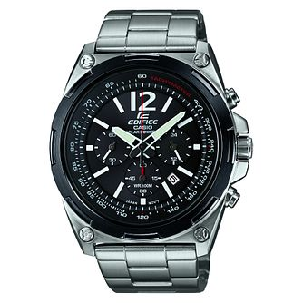 Casio Stainless Steel Black Dial Bracelet Watch - Product number 6427596
