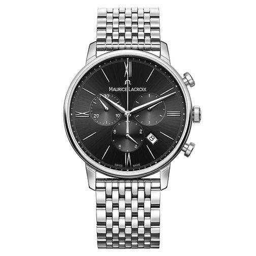 Maurice Lacroix Eliros Men's Stainless Steel Bracelet Watch - Product number 6431895