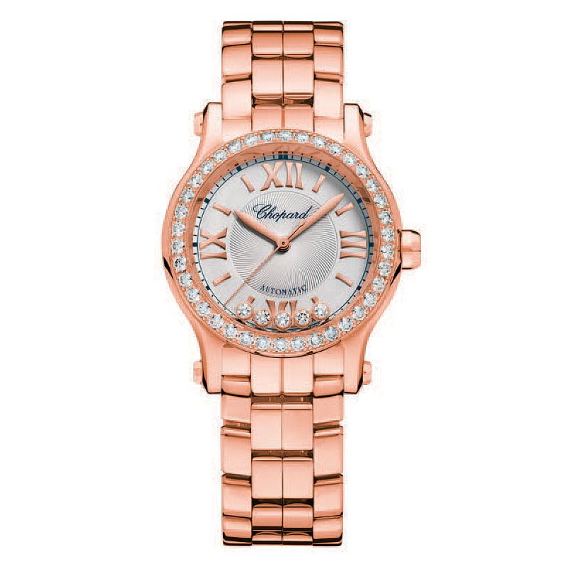 Chopard Happy Sport Ladies' 18ct Rose Gold Bracelet Watch - Product number 6431925