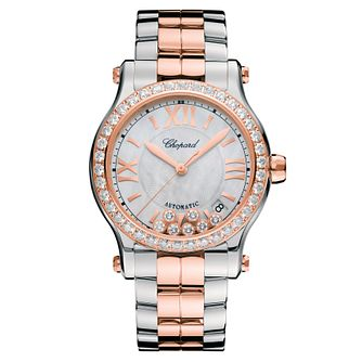 Chopard Happy Sport Ladies' Two Colour Bracelet Watch - Product number 6431976