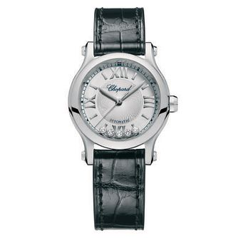 Chopard Happy Sport Ladies' Stainless Steel Strap Watch - Product number 6432018