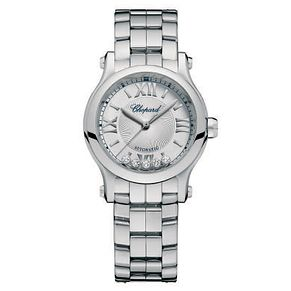 Chopard Happy Sport Ladies' Stainless Steel Bracelet Watch - Product number 6432026