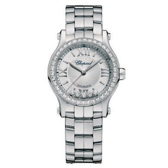 Chopard Happy Sport Ladies' Stainless Steel Bracelet Watch - Product number 6432034