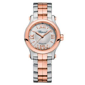 Chopard Happy Sport Ladies' Two Colour Bracelet Watch - Product number 6432042