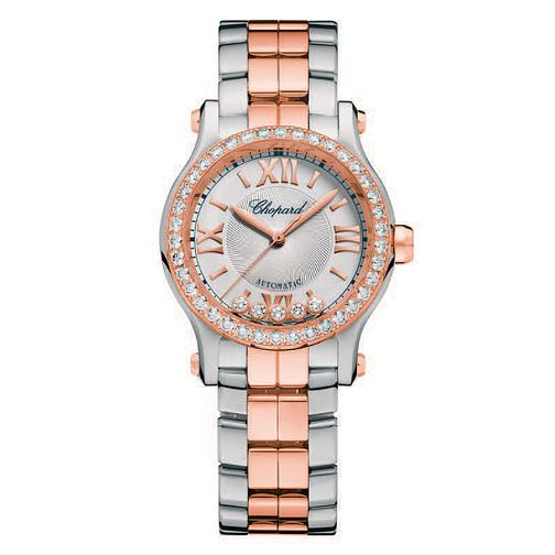 Chopard Happy Sport Ladies' Two Colour Bracelet Watch - Product number 6432069