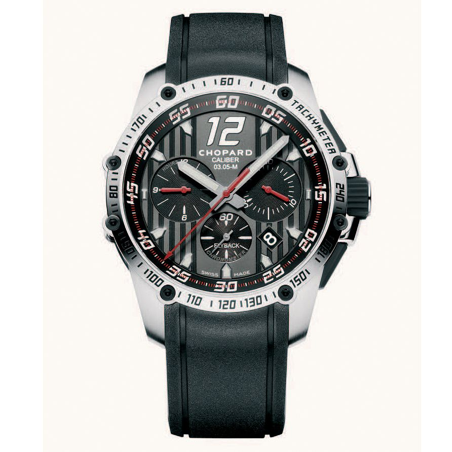 Chopard Classic Racing Men's Stainless Steel Strap Watch - Product number 6432239