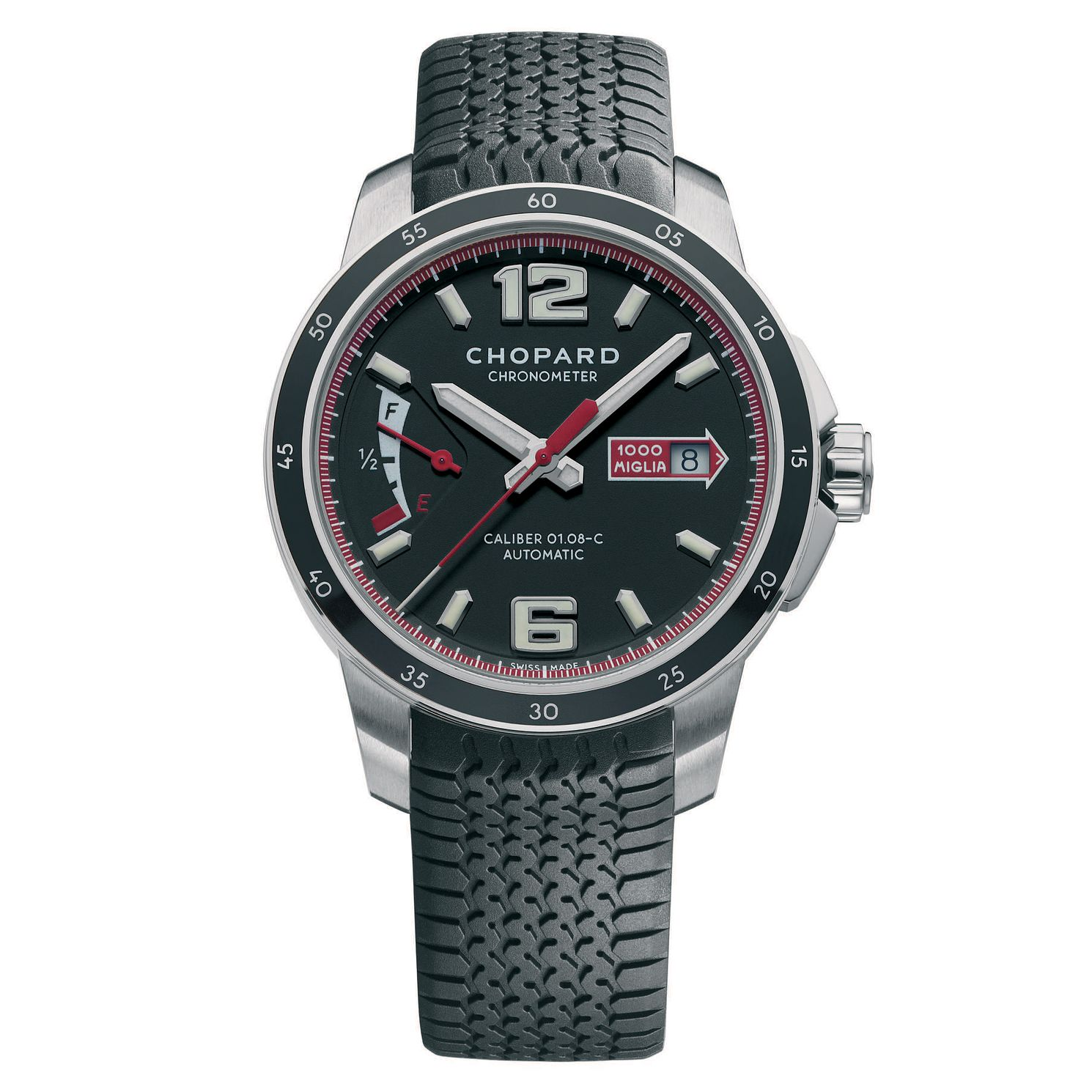 Chopard Mille Miglia Men's Stainless Steel Strap Watch - Product number 6432271