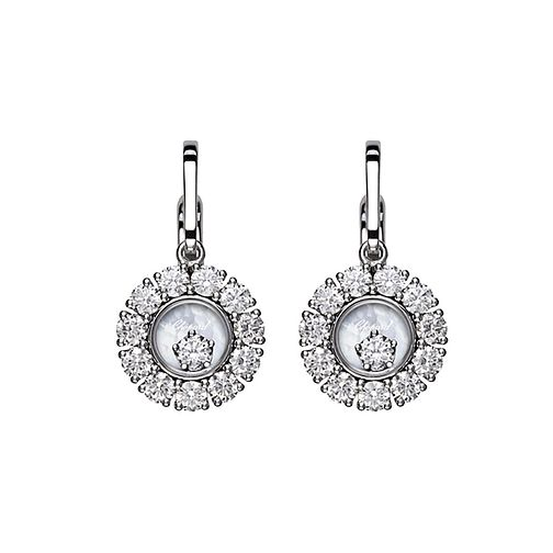 Chopard Happy Diamonds 18ct White Gold 2.26ct Earrings - Product number 6432735