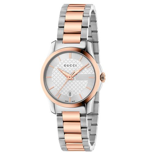 Gucci G-Timeless Ladies' Two-Tone Bracelet Watch - Product number 6435459
