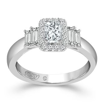 Emmy London Platinum 4/5ct Diamond Ring - Product number 6448135