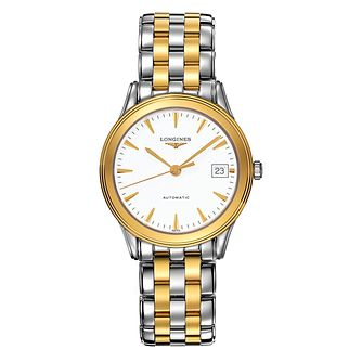 Longines Flagship Men's Two Colour Bracelet Watch - Product number 6463665