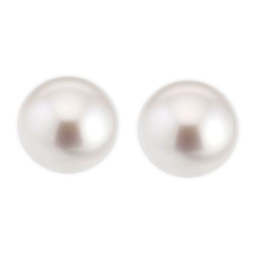 9ct Gold Cultured Freshwater Pearl 9.5mm Stud Earrings - Product number 6637140