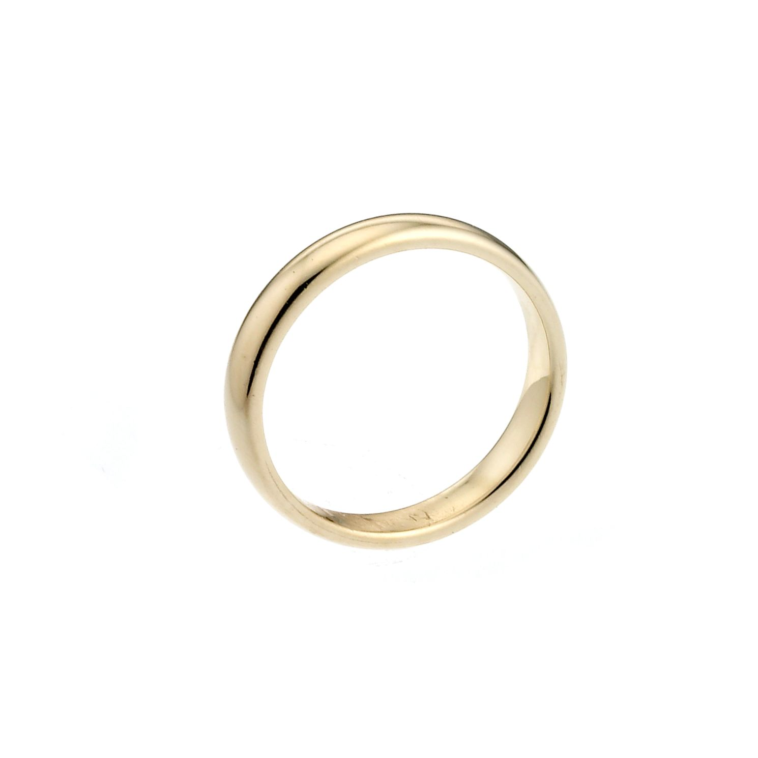 9ct Yellow Gold 2mm Extra Heavy Court Ring - Product number 6655351
