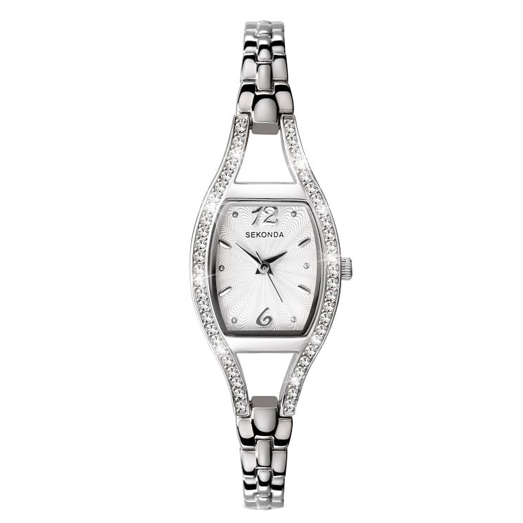 Sekonda La s Stone Set Bracelet Watch