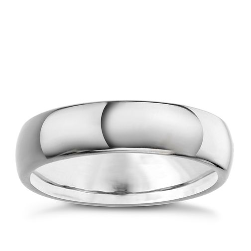 Men's Titanium 6mm Polished Court Ring - Product number 6719643