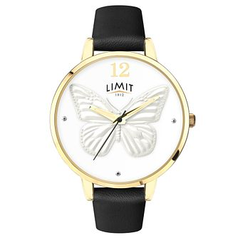 Limit Secret Garden Ladies' Gold Plated 3D Effect Watch - Product number 6772161