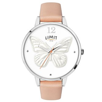 Limit Secret Garden Ladies' Silver Coloured 3D Effect Watch - Product number 6775632