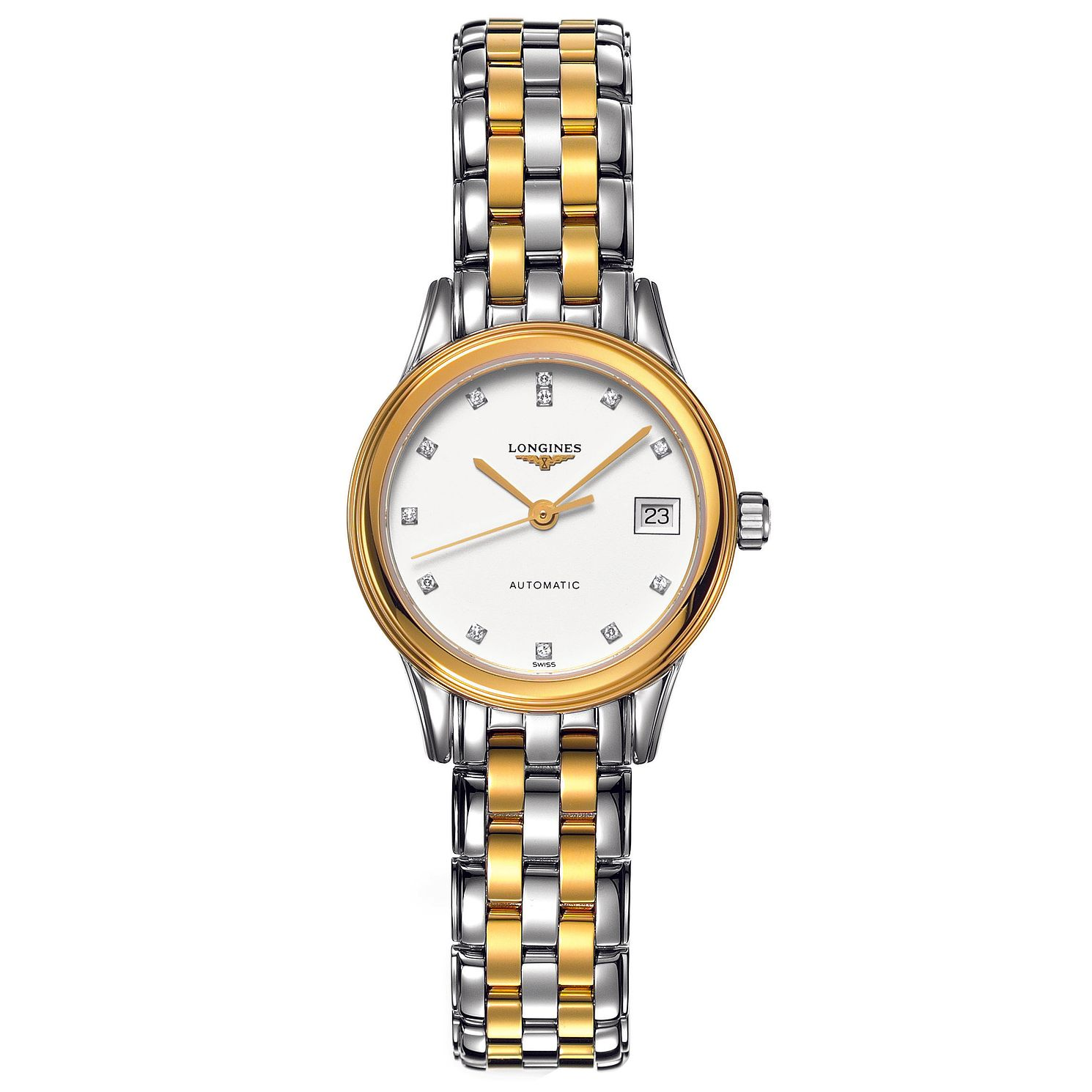 Longines Flagship Ladies' Diamond Two Colour Watch - Product number 6806325