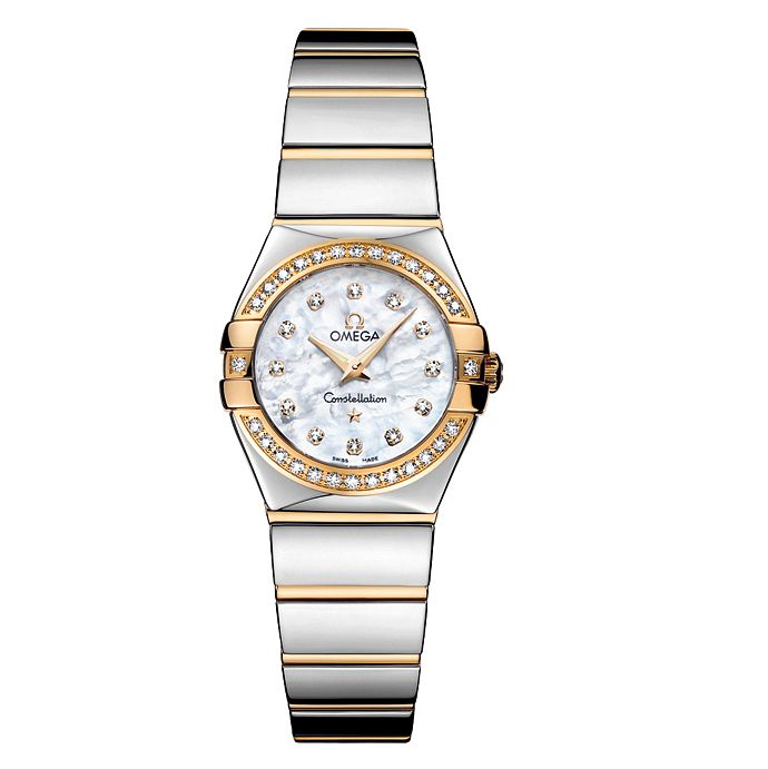 Omega Constellation Quartz ladies' Bracelet watch - Product number 6807097