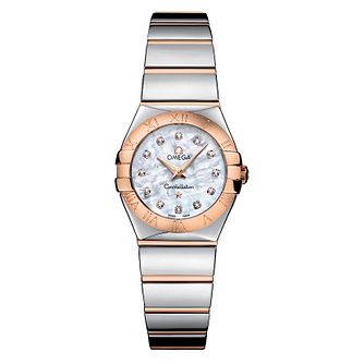 Omega Constellation Quartz ladies' Bracelet watch - Product number 6807100