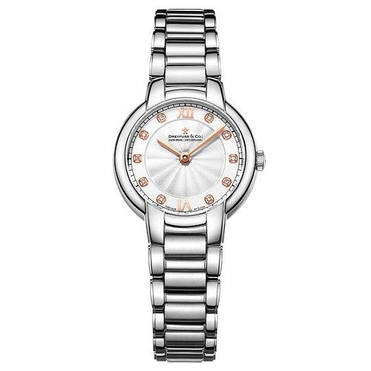 Dreyfuss & Co Ladies' Stainless Steel Bracelet Watch - Product number 6889778