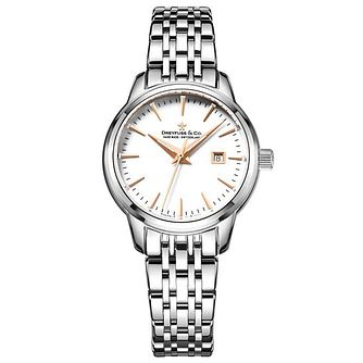Dreyfuss & Co Ladies' Stainless Steel Bracelet Watch - Product number 6889794