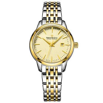 Dreyfuss & Co Ladies' Two Tone Steel Bracelet Watch - Product number 6889808