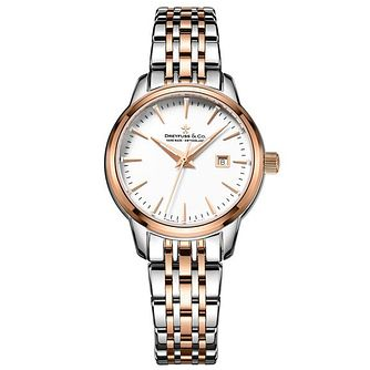 Dreyfuss & Co Ladies' Two Tone Steel Bracelet Watch - Product number 6889816