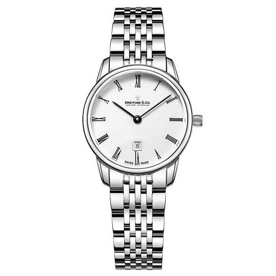 Dreyfuss & Co Ladies' Stainless Steel Bracelet Watch - Product number 6889859