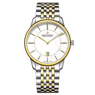 Dreyfuss & Co Men's Two Tone Steel Bracelet Watch - Product number 6889999