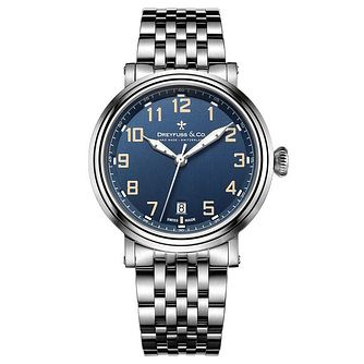 Dreyfuss & Co Men's Stainless Steel Bracelet Watch - Product number 6890032