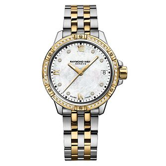 Raymond Weil Tango Ladies' Diamond Two-Tone Bracelet Watch - Product number 6892957