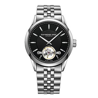 Raymond Weil Freelancer Men's Stainless Steel Bracelet Watch - Product number 6893023