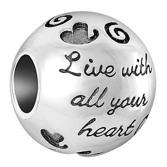 Chamilia Sterling Silver Live With All Your Heart Charm - Product number 6893171