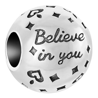 Chamilia Sterling Silver Believe In You Charm - Product number 6893198