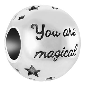 Chamilia Sterling Silver You Are Magical Charm - Product number 6893228
