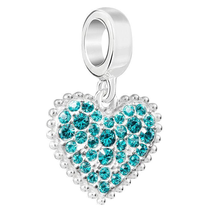 Chamilia With Love December Charm with Swarovski Crystal