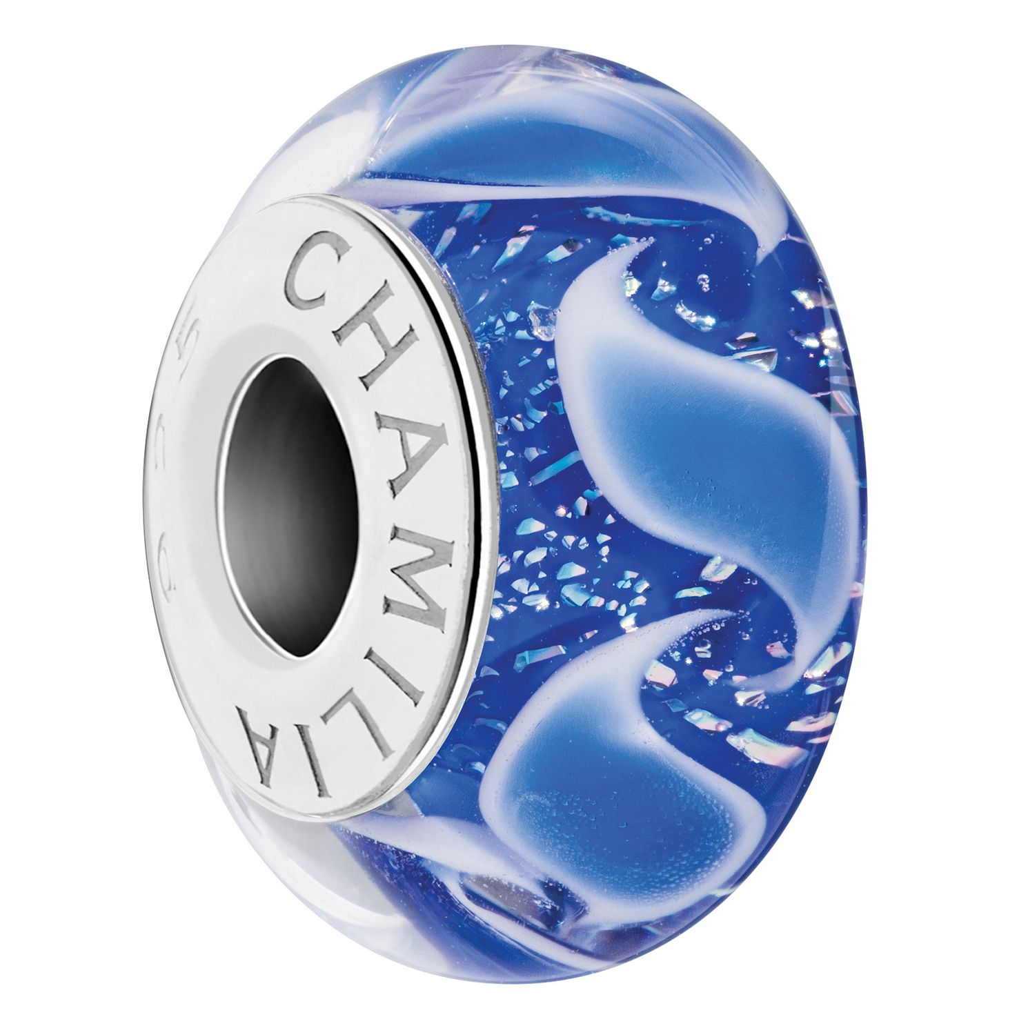 Chamilia Dancing Waters Murano Glass Charm - Product number 6893600