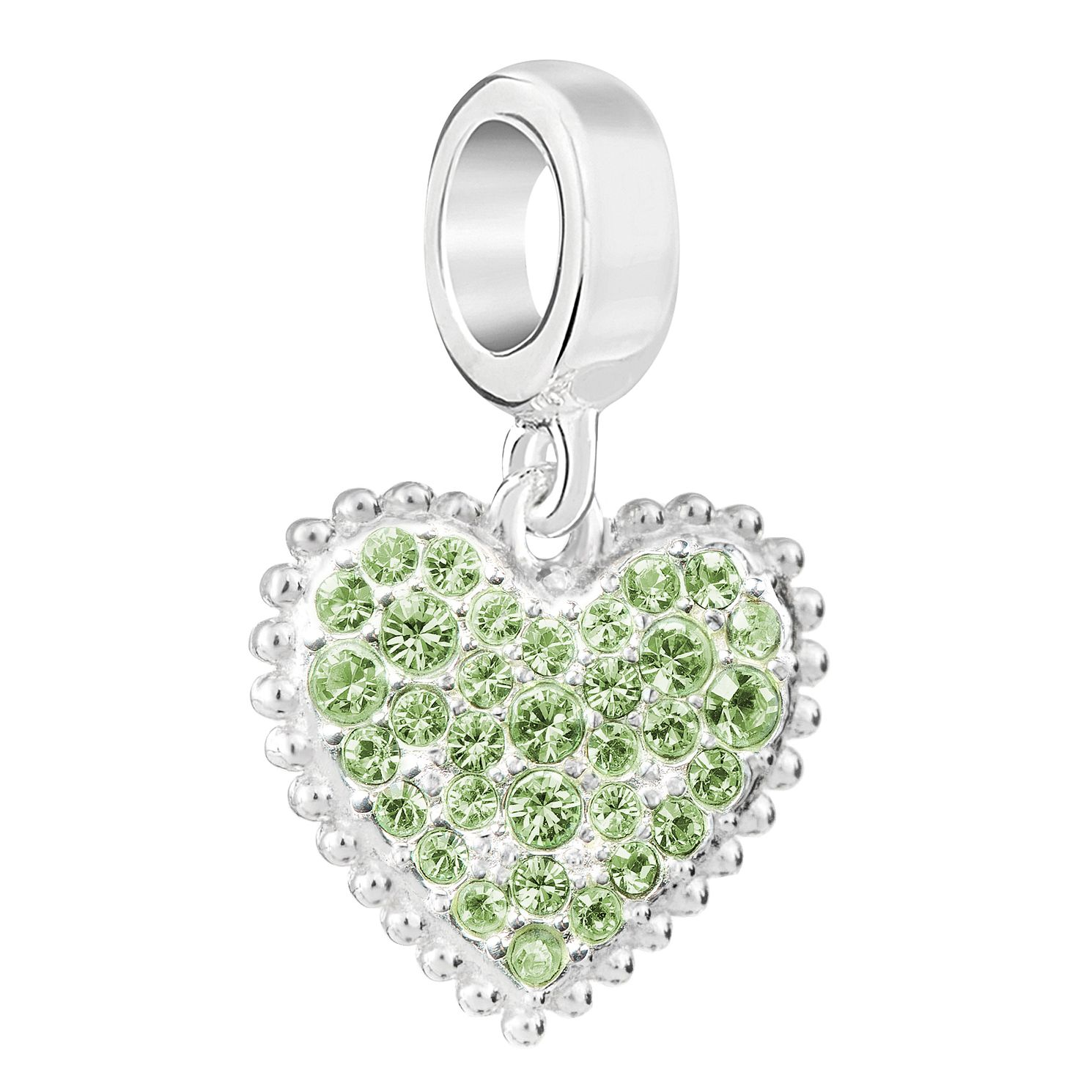Chamilia Sterling Silver With Love August Charm - Product number 6893856