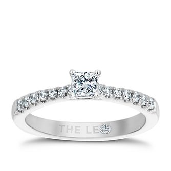 Leo Diamond Platinum 1/2ct II1 Diamond Ring - Product number 6897673