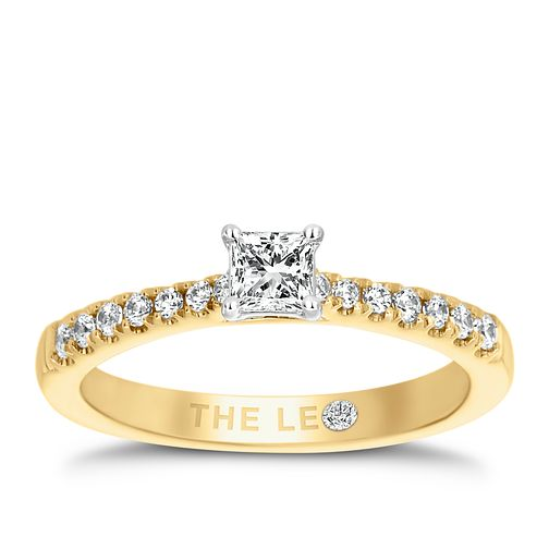 Leo Diamond 18ct Yellow Gold 1/2ct II1 Diamond Ring - Product number 6916090
