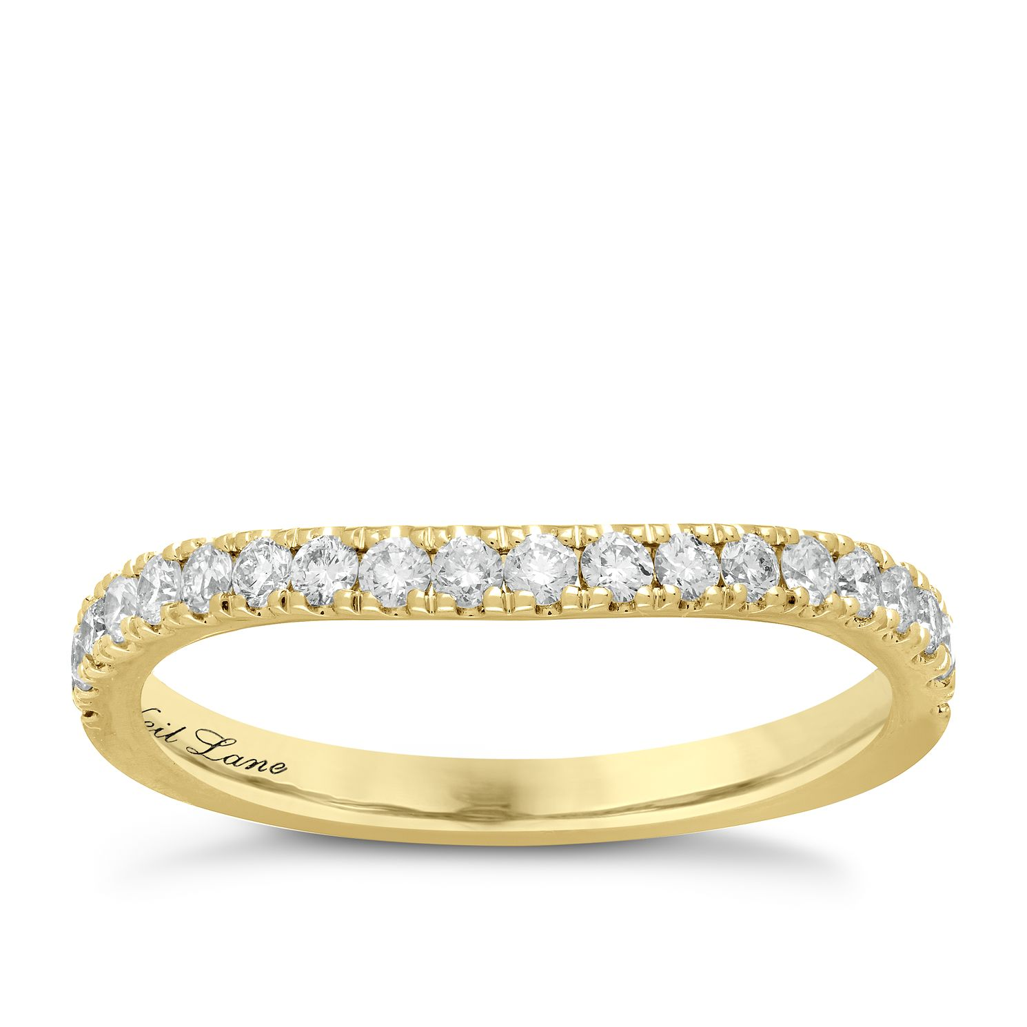 Neil Lane 14ct Yellow Gold 0.37ct Diamond Shaped Band - Product number 6932908