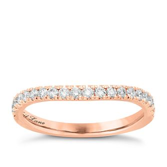 Neil Lane 14ct Rose Gold 0.37ct Diamond Shaped Band - Product number 6933025