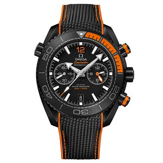 Omega Seamaster Planet Ocean Men's Chronograph Strap Watch - Product number 6939740