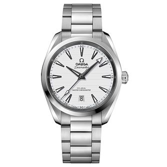 Omega Seamaster Aqua Terra Men's Steel Bracelet Watch - Product number 6939775