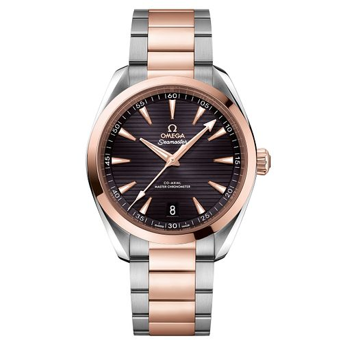 Omega Seamaster Aqua Terra Men's Two-Tone Bracelet Watch - Product number 6939988