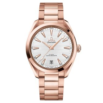 Omega Seamaster Aqua Terra Men's 18ct Rose Gold Watch - Product number 6940013
