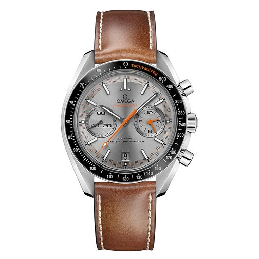 Omega Speedmaster Men's Chronograph Brown Strap Watch - Product number 6940226