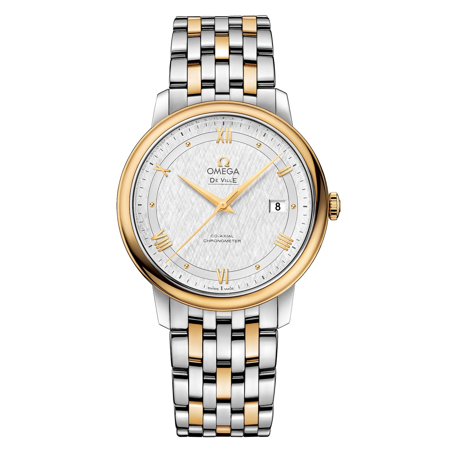 Omega De Ville Men's Two Colour Bracelet Watch - Product number 6940234